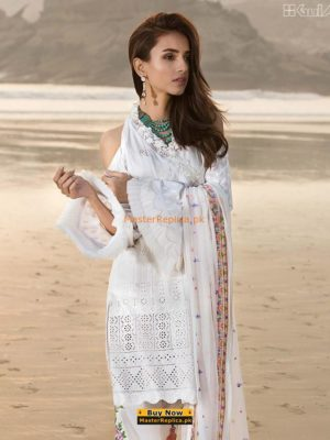 Gul Ahmed Latest Embroidered Lawn Collection Replica