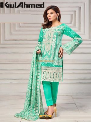 Gul Ahmed Latest CT-27 Lawn collection Replica 2018
