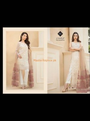 JAZMIN Latest Embroidered Chiffon Collection Replica