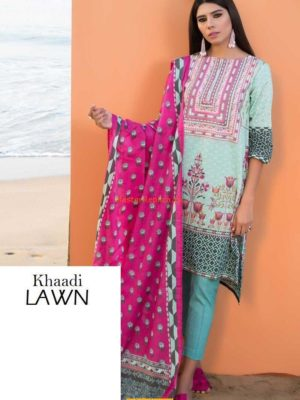 Khaadi C18101B Embroidered Lawn Collection Replica