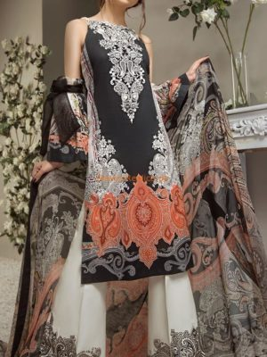 Kiran Chaudhry Latest Printed 2018 Collection Replica