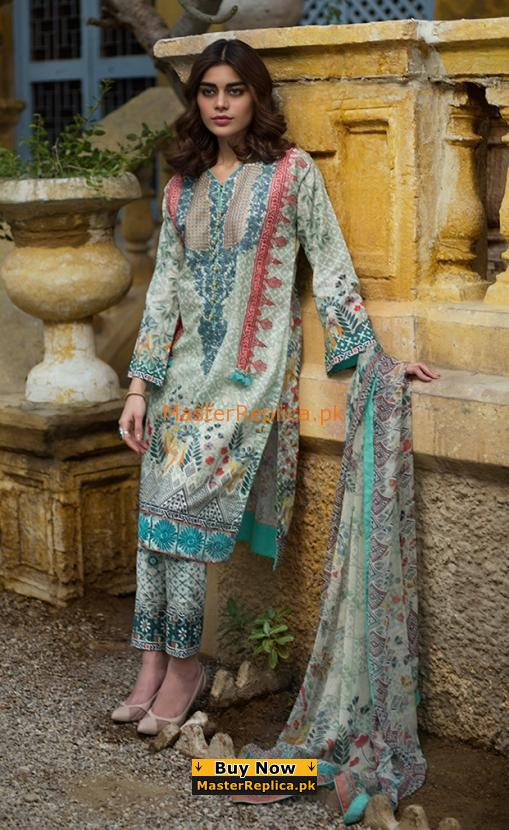 LAKHANI Latest Embroidered Lawn Collection Replica 2018