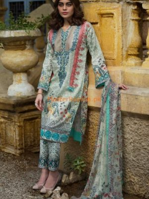 Lakahani Latest Embroidered Lawn collection Replica 2018