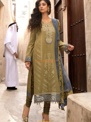 Maria B Latest D-1805-B Lawn Embroidered Lawn Collection Replica