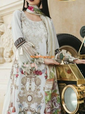Maria B. Luxury Embroidered Lawn Collection Replica