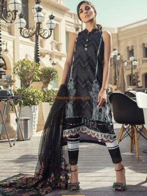 Maria B Latest Embroidered Lawn D-1812-A Collection Replica