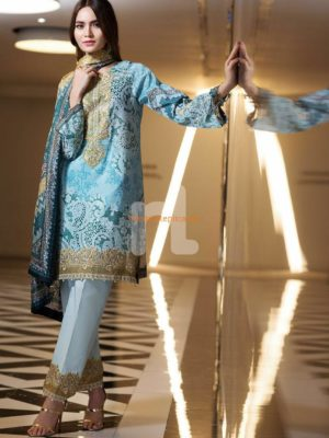 NISHAT Latest Embroidered Lawn Collection Replica