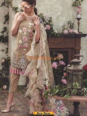 NOOR by Saadia Asad Latest Embroidered Lawn Collection Replica