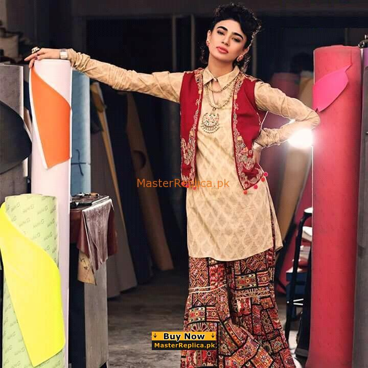 Rung Ja Luxury Embroidered Lawn Collection Replica