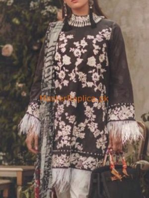 Noor By Sadia Asad Latest Embroidered Lawn Collection Replica