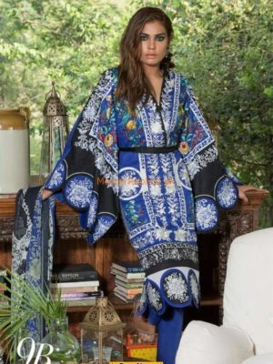 SANA SAFINAZ Latest 9B Lawn Collection Replica 2018