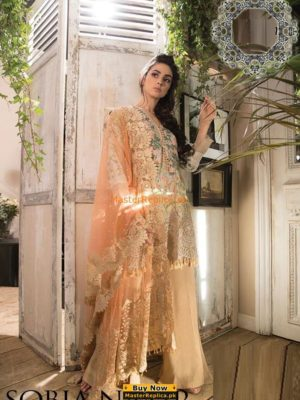 Sobia Nazir 2B Swiss Voile Latest Collection Replica