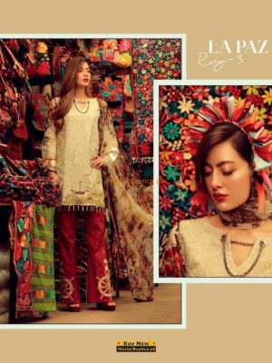 Rangrez Luxury Embroidered Summer Lawn Collection Replica