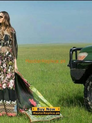 Sana Safinaz Luxury Embroidered 8-B Lawn Collection Replica