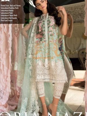 Sobia Nazir 2A Luxury Swiss voile Collection Replica 2018