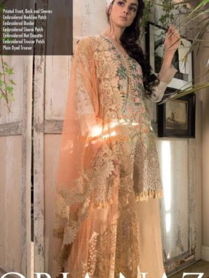 Sobia Nazir 2A Swiss voile Luxury Collection Replica
