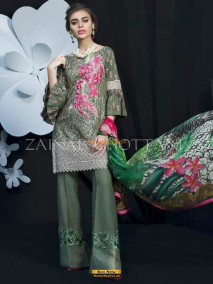 ZAINAB CHOTTANI Luxury Embroidered Lawn Collection Replica 2018