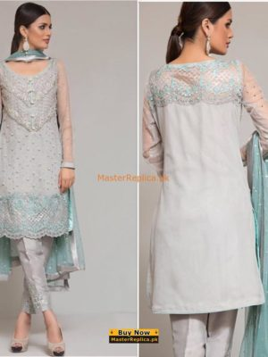 Zainab Chottani Latest Embroidered Net Collection
