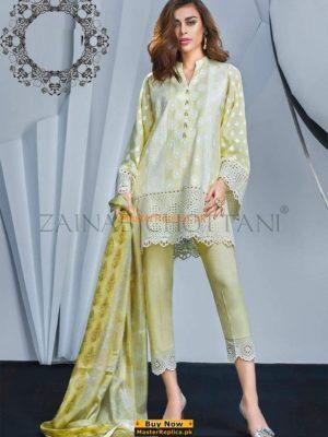 Zainab Chottani Latest Lawn Collection 2018 Replica