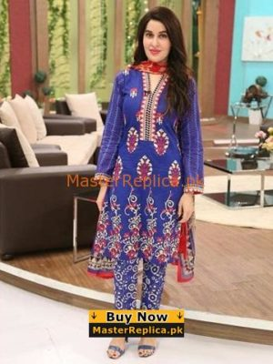 Maria B.Latest Embroidered Lawn Collection Replica 2018
