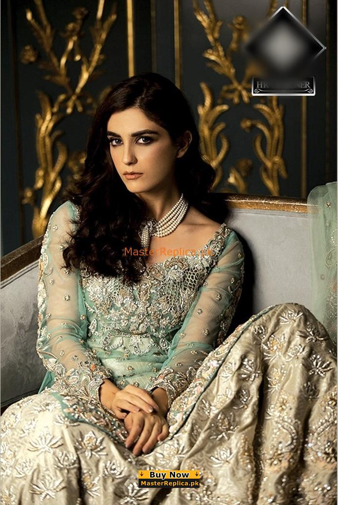 AMMARA KHAN Luxury Embroidered Net Collection Replica