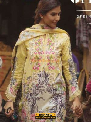 Firdous Latest Embroidered Lawn Collection Replica