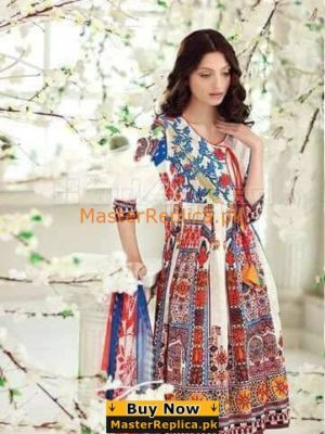 GUL AHMED Luxury C-481 Embroidered Lawn Collection Replica