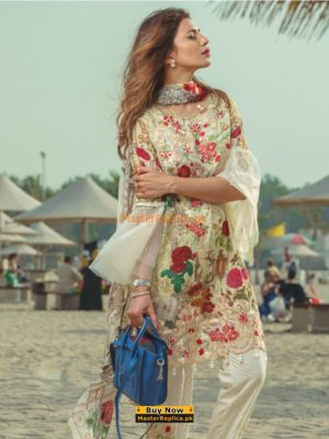 RANG RASIA Latest 1013 A Embroidered Lawn Collection Replica