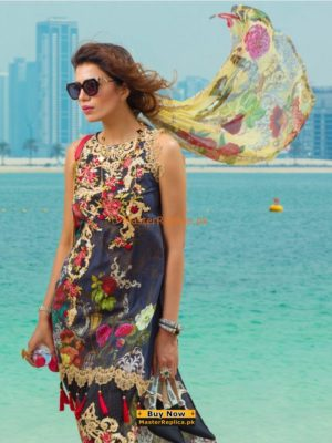 RANG RASIA Luxury 1013 B Embroidered Lawn Collection Replica