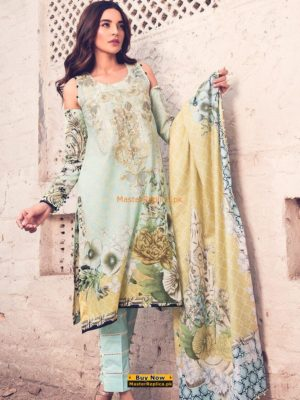 RANG RASYA Latest 3007 A Embroidered Lawn Collection Replica