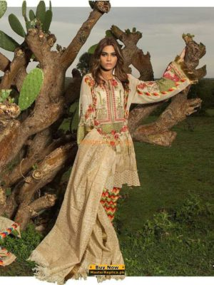 SANA SAFINAZ Latest-02A Embroidered Lawn Collection Replica