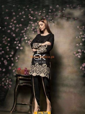 Sobia Kay Luxury Embroidered Bareeza Collection Replica