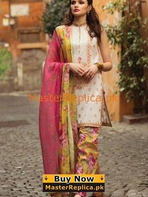 ZARA SHAH JAHAN Luxury Embroidered Lawn Collection Replica