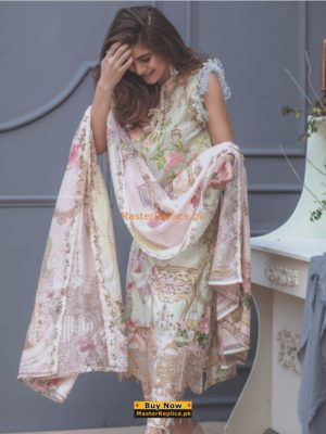 RUNG RASIA Latest Embroidered Lawn Collection Replica