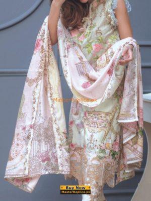 Rang Rasiya Luxury Embroidered Lawn Collection Replica 2018