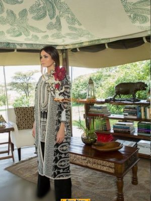Sana Safinaz Latest 4-A Embroidered Lawn Collection Replica