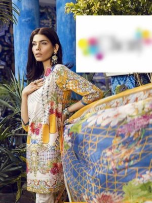 ASIFA NABEEL Luxury Summer Printed Lawn Collection Replica