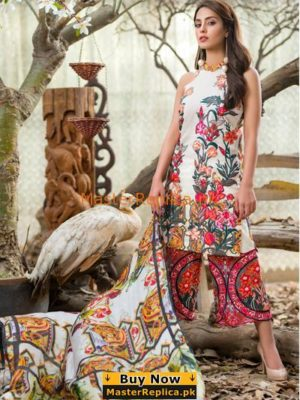 ASIFA NABEEL Luxury 8A – She Played it well Embroidered Lawn Replica