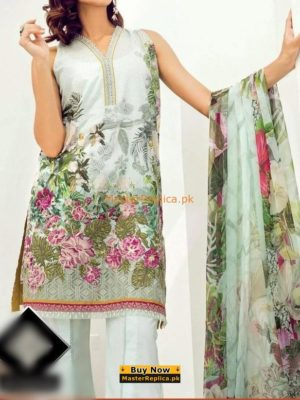 BAROQUE Luxury Embroidered Summer Lawn Collection Replica 2018
