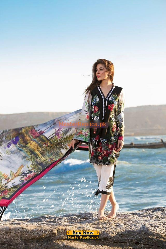 CRIMSON Luxury Embroidered Eid Lawn Collection Replica