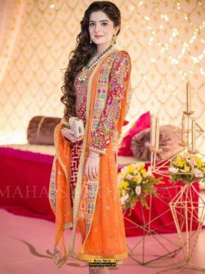 DESIGNER Latest Embroidered Chiffon Eid Collection Replica