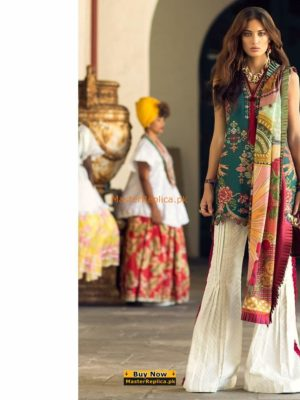ELAN Luxury Embroidered Lawn Eid Collection Replica 2018