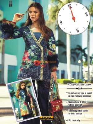FARAZ MANAN Luxury Embroidered Summer Lawn Collection Replica