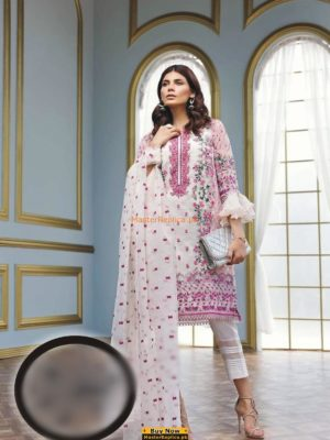 GUL AHMED Latest Embroidered Chiffon Eid Collection Replica