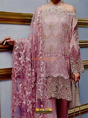 GUL AHMED Luxury Embroidered Eid Net Collection Replica