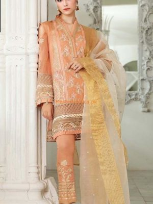 GUL AHMED Luxury Embroidered Summer Lawn Collection Replica