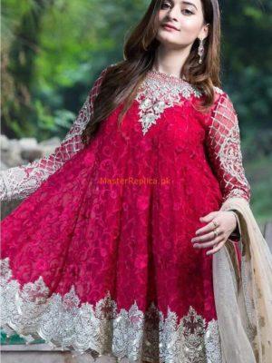 IMROZIA Latest Embroidered Chiffon Eid Collection Replica