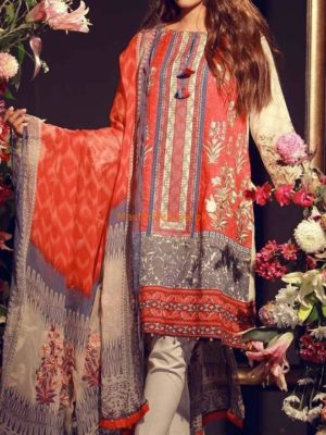 JAZMINE Luxury Embroidered Lawn Eid Collection Replica