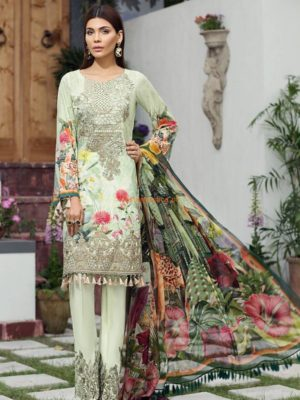 JAZMINE Latest Savannah Embroidered Lawn Eid Collection Replica