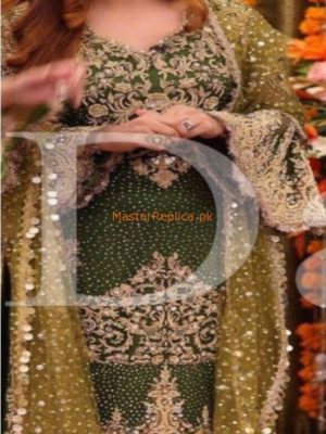 KASHEE'S Luxury Embroidered Bridal Chiffon Collection Replica